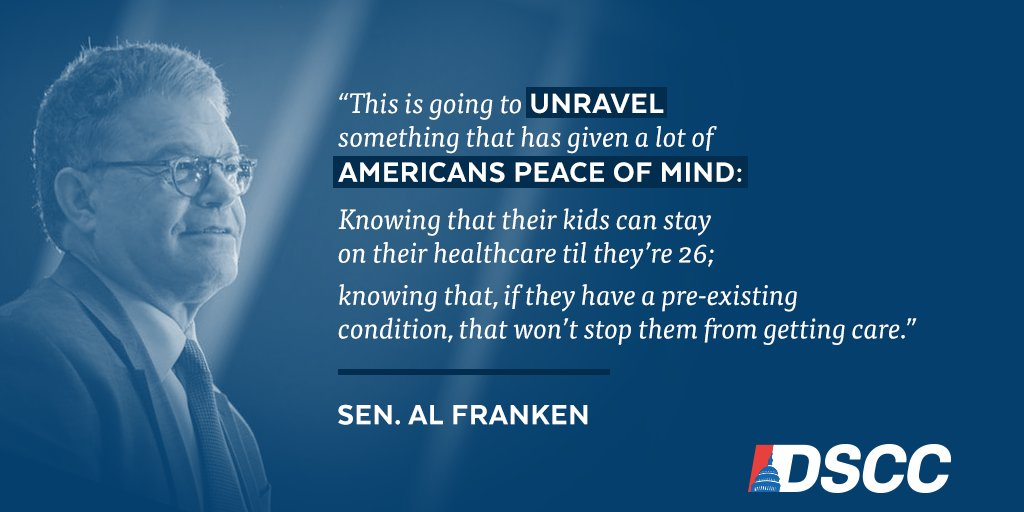 .@alfranken challenges HHS nominee Tom Price on what the #ACA means to Americans.