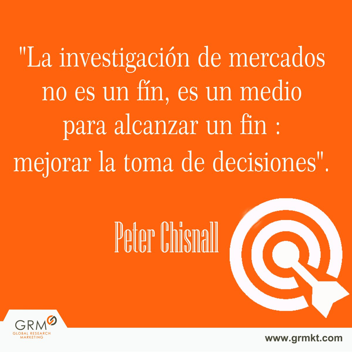 Grm On Twitter Una Frase De Peterchisnall Sobre El