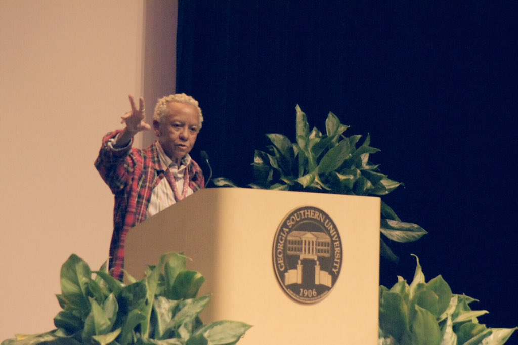Excited to have Nikki Giovanni as our MLK Celebration Speaker!@GeorgiaSouthern https://t.co/3FTFCGQi3F