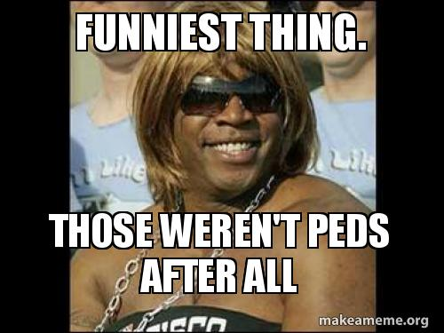 Maybe those weren&#39;t #BarryBonds #PED,s #BarryBonds took after all.  #HallOfFame<br>http://pic.twitter.com/j23facNUli