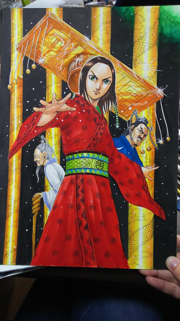 本日19日はキングダム新刊45巻の発売日です!おまけ漫画も描いてます!どうぞ宜しくお願い致します!✨北海道、九州の方はれいによって二日遅れて...
