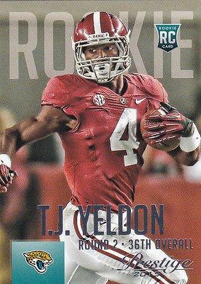 T.J. YELDON ( RC ) 2015 PANINI PRESTIGE *#Rookie #Card #287 *JACKSONVILLE #Jaguars   http:// dlvr.it/N8D31V  &nbsp;   #Football<br>http://pic.twitter.com/6HEUnNprYs