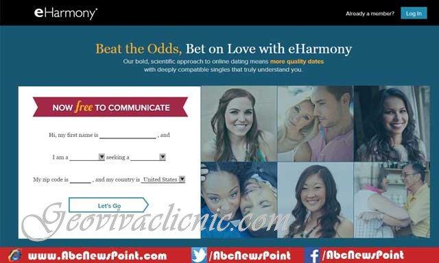 www eharmony com login