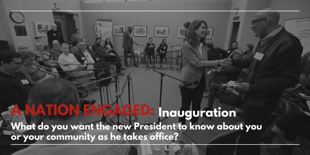 Tune in to tomorrow at 9 a.m. &amp; 7 p.m. for #ANationEngaged community convos with @npr&#39;s @samsanders<br>http://pic.twitter.com/lsETLufu9F