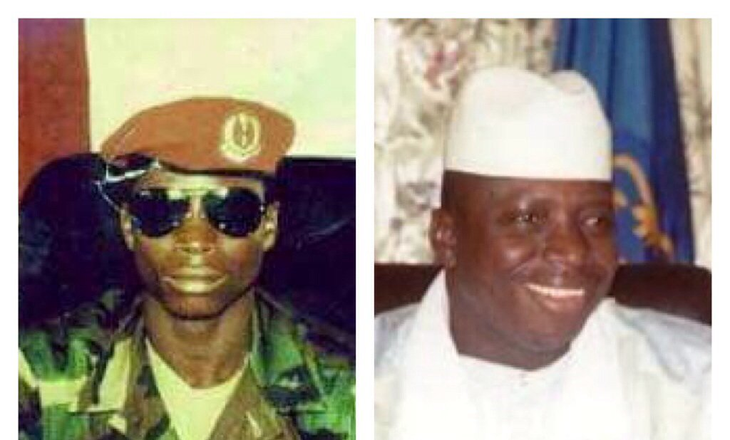 Then and Now: Yahya Jammeh when he took over 22 years ago and now when he is refusing to leave office https://t.co/u4xLOkCPG6