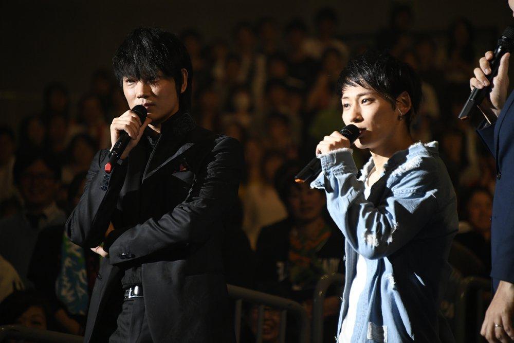 マンウィズ×UVER×マイファスが競演 綾野剛も即興演奏『新宿スワンII』ライブ(写真 全21枚) …