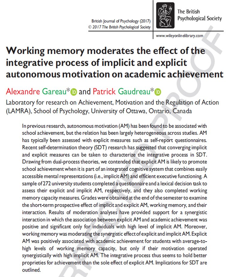 multitasking span measures and working memory capacity There's not a single published paper that shows a significant positive relationship between working memory capacity and multitasking in the review we noticed an interesting potential emerging.