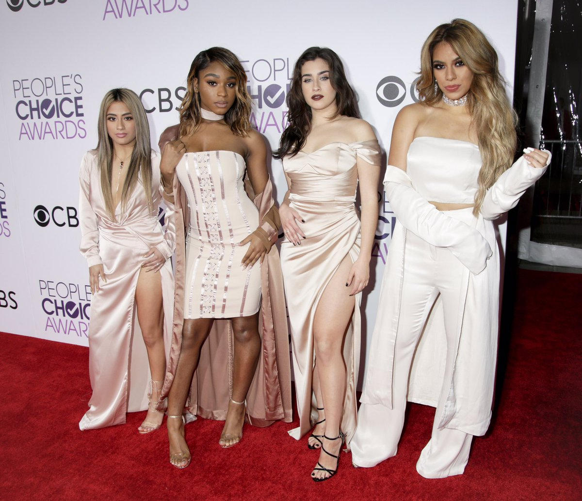 .@fifthharmony are here to work, work, work it at the #PCAs! Get ready for their performance https://t.co/zCEeS9RU1Y