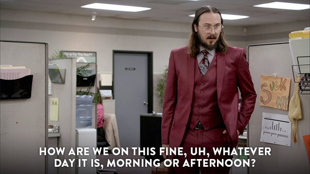 It's easy to lose track of these things. #Workaholics https://t.co/Mz5...