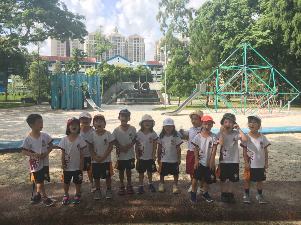 We had so much fun at the Adventure Playground! We moved our bodies in so many different ways! #risktakers #isspride https://t.co/ifJUIylBah