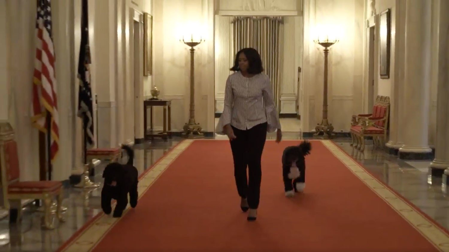 Watch Michelle Obama take her final walk through the White House, and get ready to cry: https://t.co/xvs5480OUz https://t.co/9rj5PRZHBN