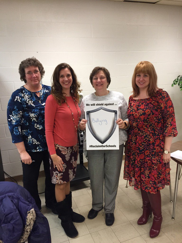 Iroquois Faculty Association shields against bullying #ReclaimOurSchools https://t.co/43hPQ8dEqZ