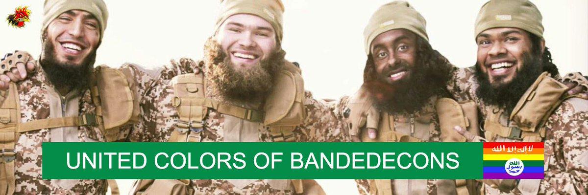 On le ne répètera jamais assez ! #Daesh #UnitedColorsofBandedecons<br>http://pic.twitter.com/siJ68ZjwcC