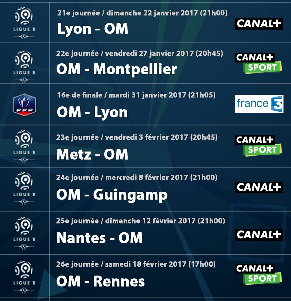 Calendrier Des Matchs De Lom.Le Phoceen On Twitter Le Calendrier De L Om Les Sept