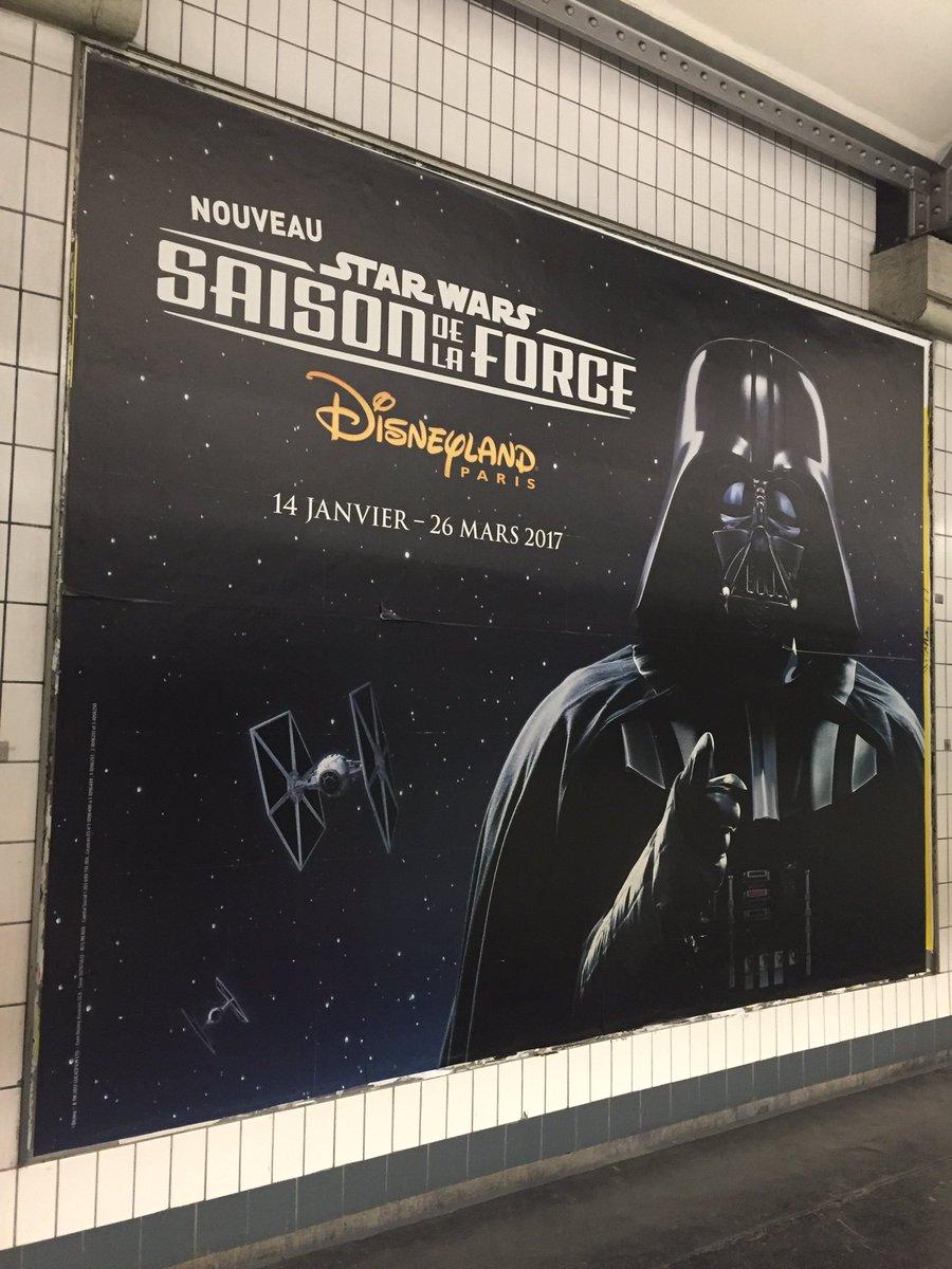 C&#39;est la Saison de la Force #StarWars à @DisneylandParis #DarkVador #Nouveau <br>http://pic.twitter.com/r8LCYR5CSP
