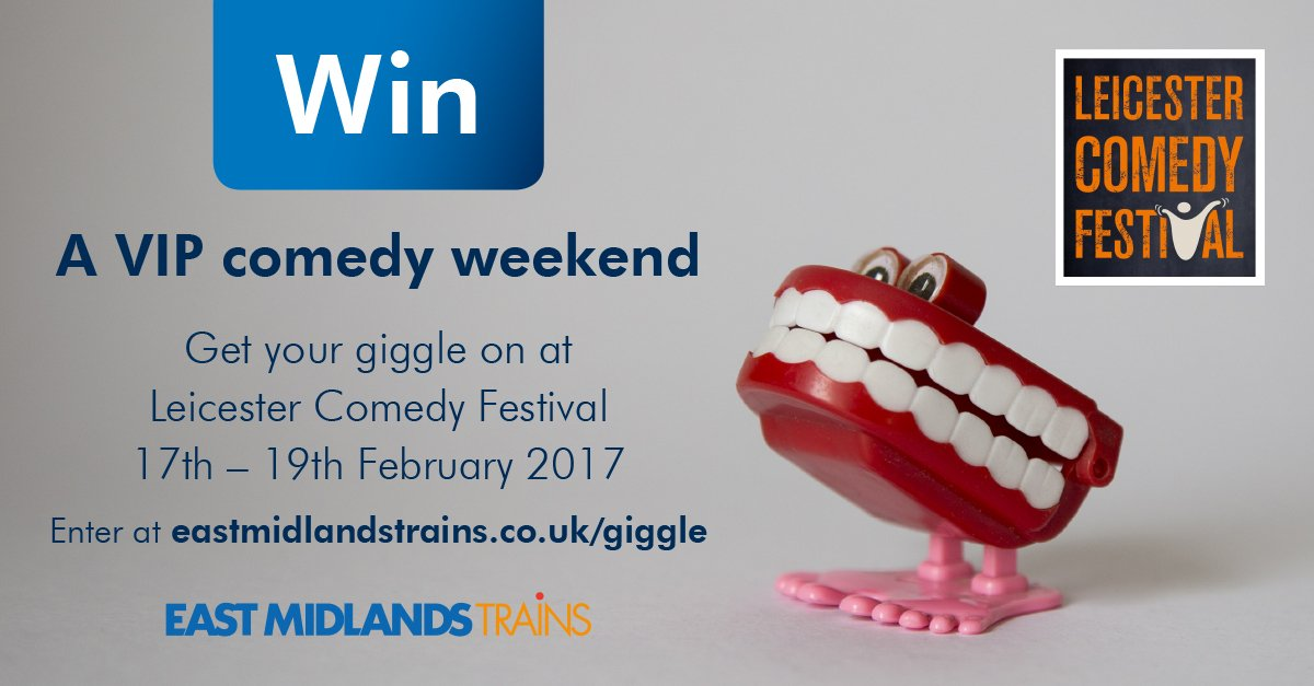 Share your best joke for your chance to #win a VIP weekend at @LeicsComedyFest https://t.co/BdEg4P6Vtp #onlyjoking https://t.co/gXCipDD50h