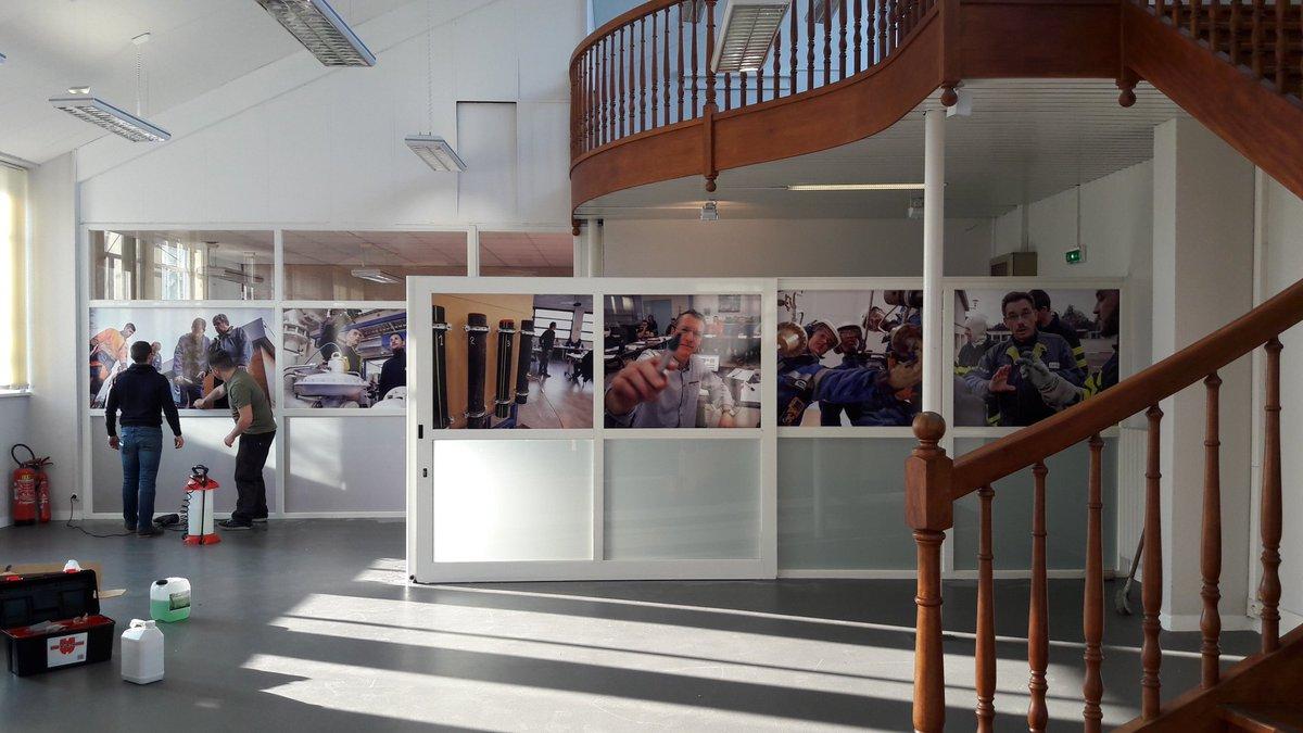 Le CDI à #energy formation se fait une beauté :). Merci à @An Avel Publicité pour leur efficacité et professionnalisme.<br>http://pic.twitter.com/JZywNddJNR