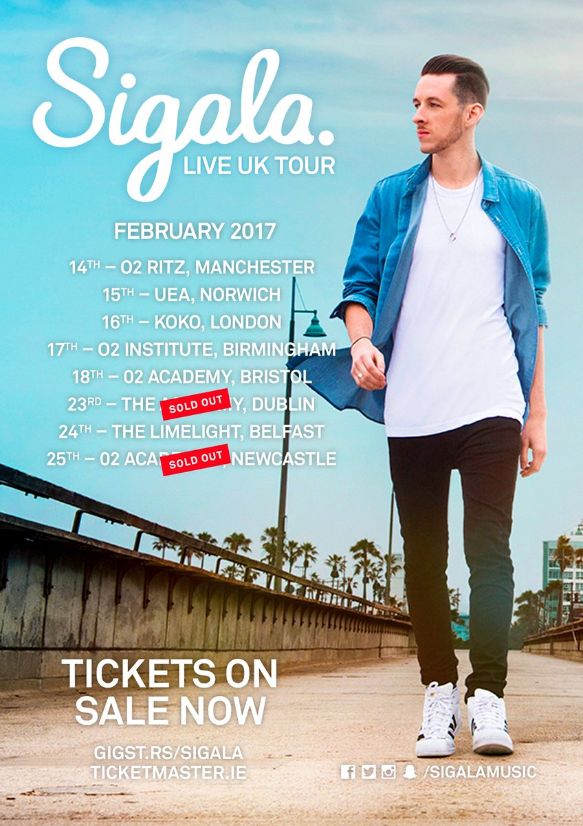We cannot wait for this! See you next month @SigalaMusic! https://t.co...