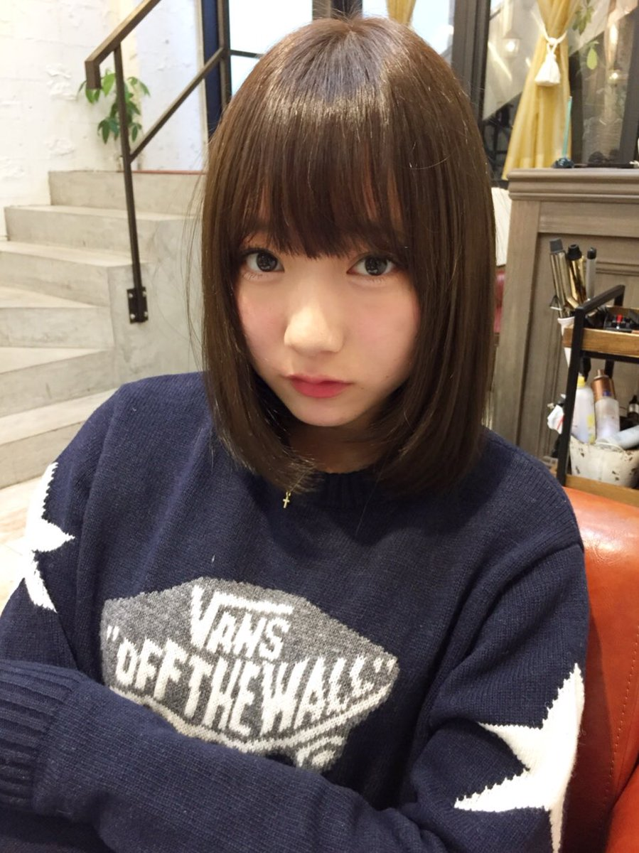 VANSのセーターが可愛い京佳