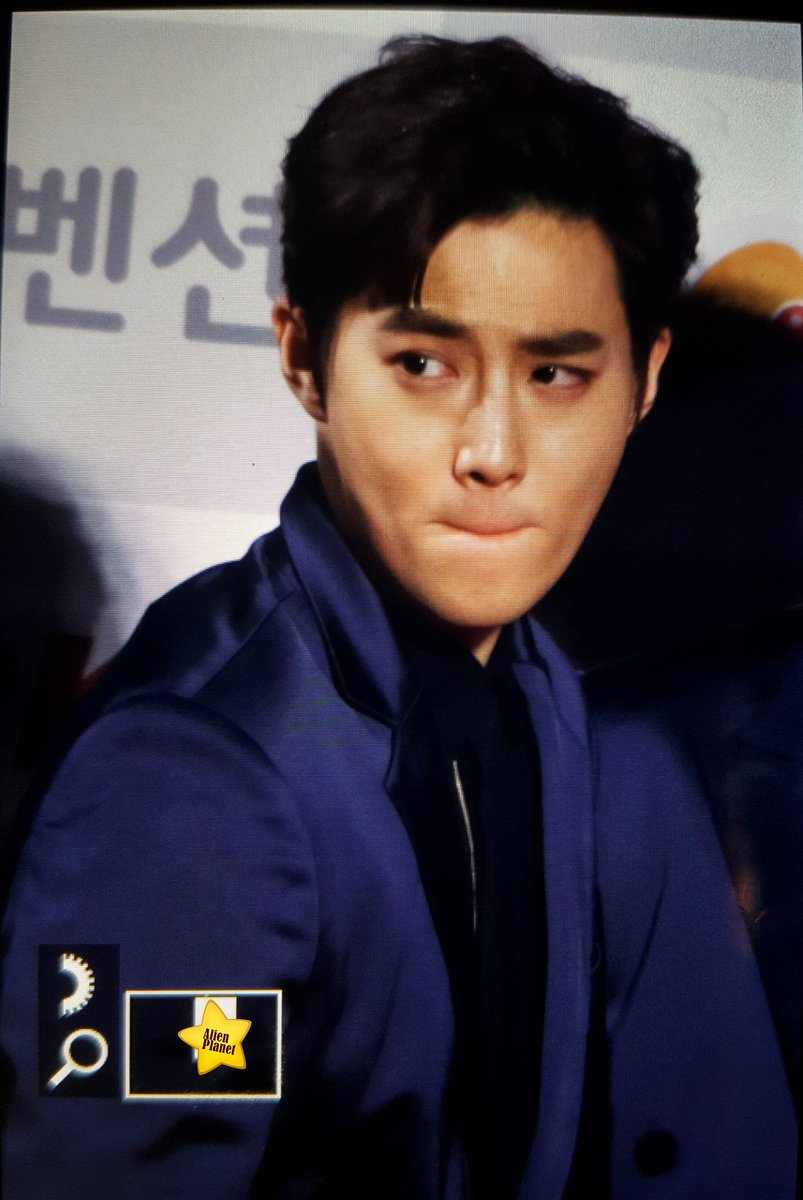 [PREVIEW] 170119 #EXO Suho at The 26th Seoul Music Awards cr. mini916523