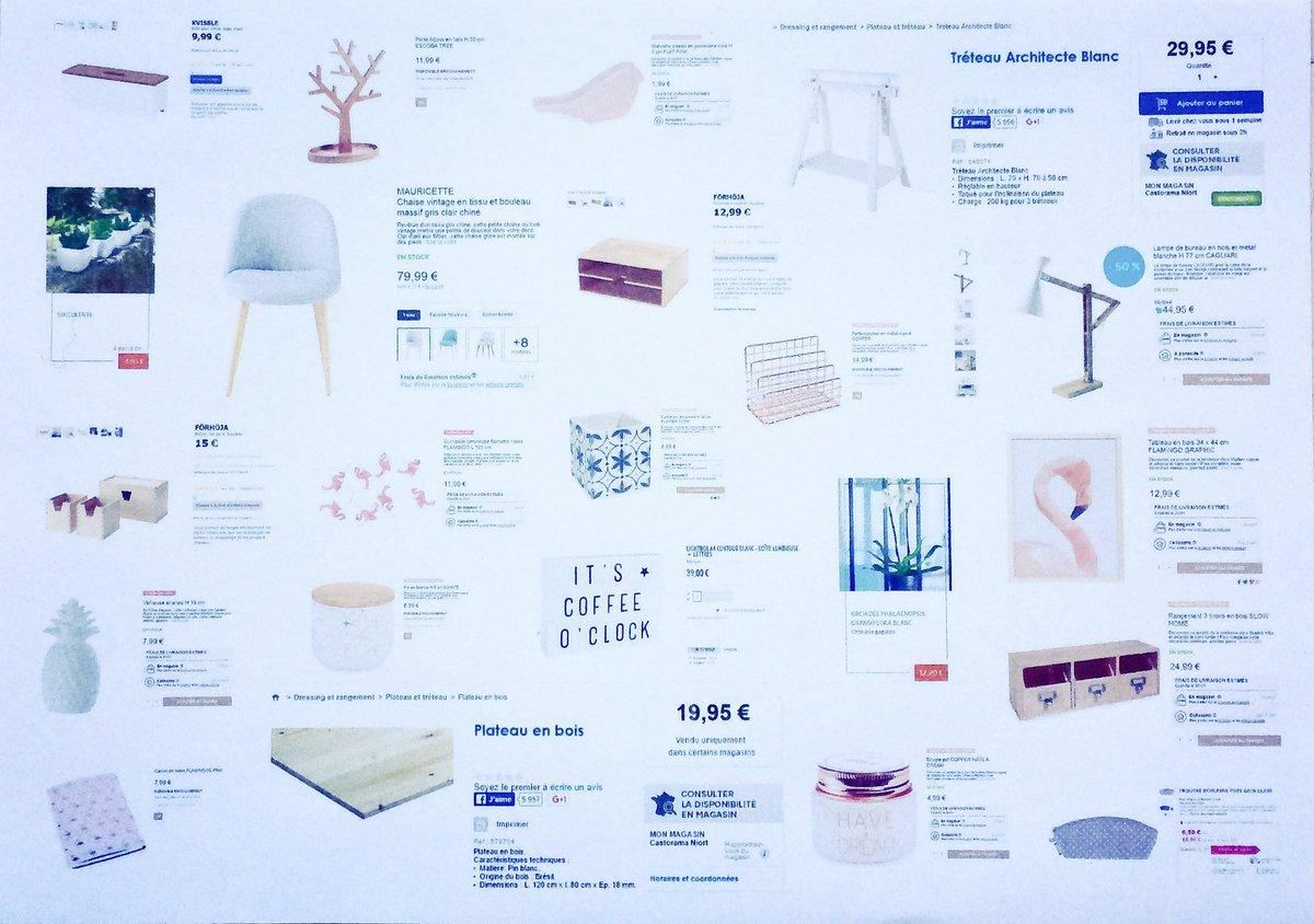 #PlancheDéco pour aménagement d&#39;un coin bureau. #MaisonsDuMonde @MDM_FR<br>http://pic.twitter.com/COwUJoI2GF