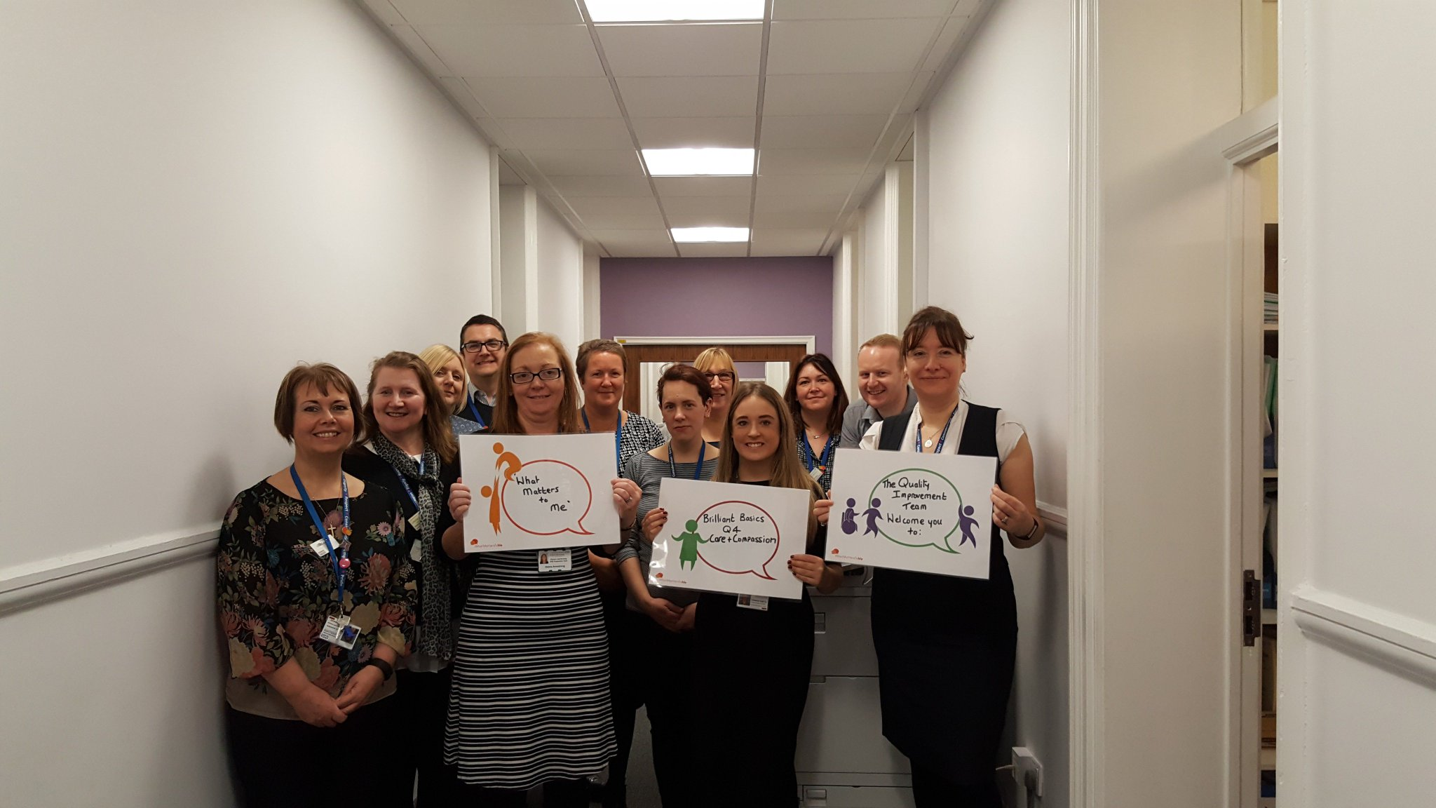 Patient Services Team pledge #wmtm to continue to support staff to be the best  they can be & ensure the best patient experience @CMFTNHS ❤️ https://t.co/FXemAZwPh1