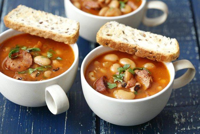 Instant Pot Bean & Bacon Soup