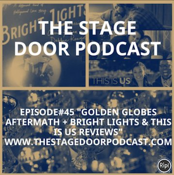 EPISODE#45&quot; #GoldenGlobes aftermath + #ThisisUs &amp; #BrightLights #Reviews&quot;  http:// bit.ly/2iyhUHx  &nbsp;     Enjoy&amp;Retweet #Podcast #MovieReview #Tv<br>http://pic.twitter.com/AA5SQn63Pw