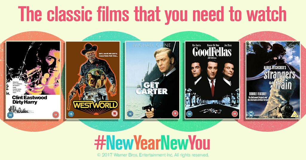 #RT THIS tweet to #Win 5 classic films #NewYearNewYou https://t.co/m5FX6LGxcF @goriami Ends 31/01. UK only, 18+. https://t.co/kPRTiUbgoa