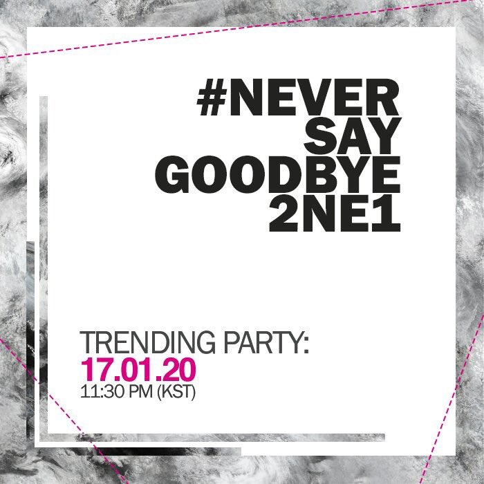 【#BLACKJACKSCHEDULE】2NE1のシングル「GOODBYE」のD-1。 「GOODB…