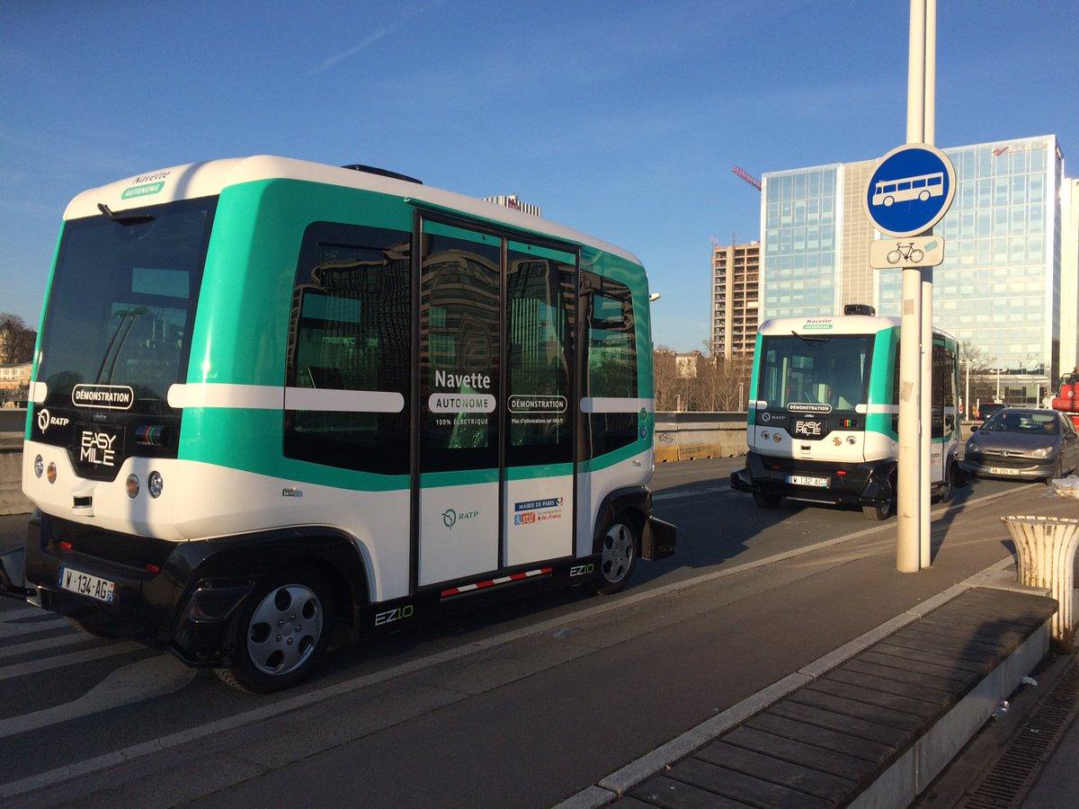 EXCLU - c&#39;est parti pour les navettes 100% autonomes entre G de Lyon &amp; Austerlitz VIDEO ► http:// tinyurl.com/hljv8da  &nbsp;   #transports #RATP #Paris <br>http://pic.twitter.com/MdQiQXeTiE