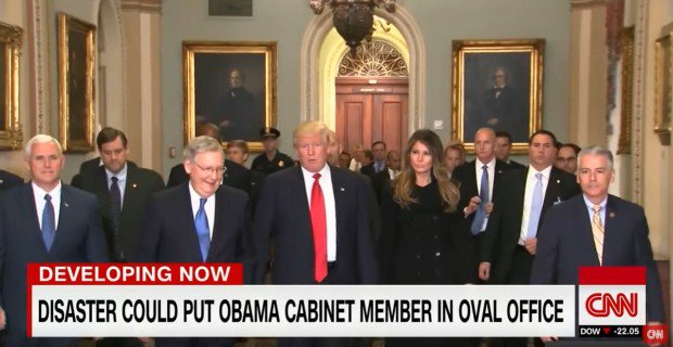 CNN: If Trump is Killed During Inauguration, Obama Appointee Would be President -