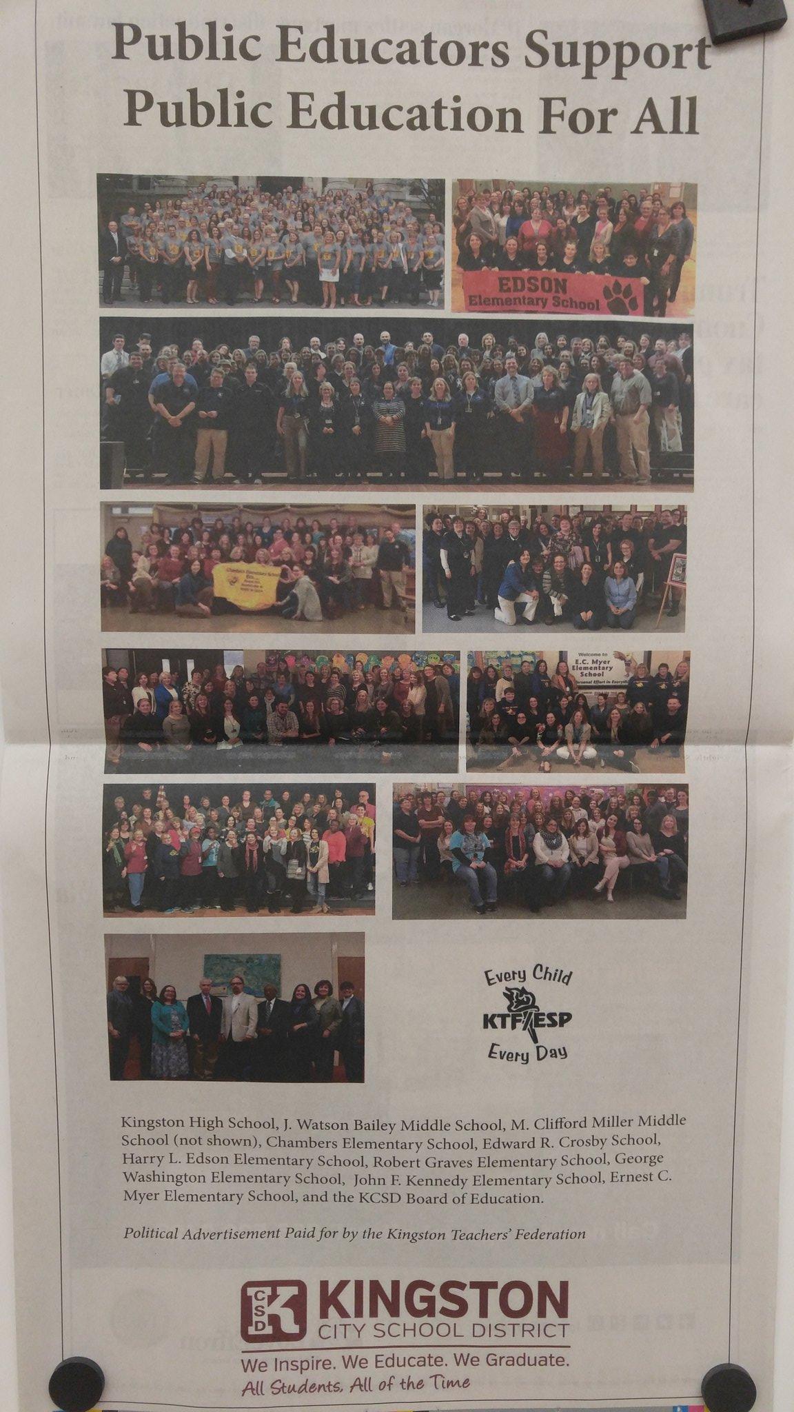 Kingston Teachers' Federation #ReclaimOurSchools https://t.co/UG63twBMsF