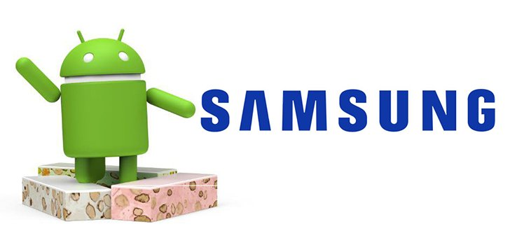 Android 7.0 Nougat coming to a Samsung devices