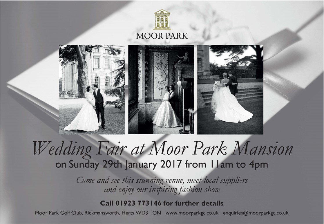 Moor Park Golf Club On Twitter Calling All Brides The Wedding Fair Is Only 10 Days Away So Make Sure You Come Along To See Venue And Meet