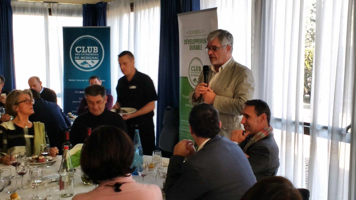 Repas grand témoin Valorem #energy @ClubMerignac<br>http://pic.twitter.com/CQG9G08plW