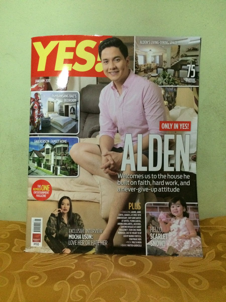 Reading @aldenrichards02 very inspiring story on @YESmag!!! #ALDUB79thWeeksary #ALDUBStayInLove #AldenAt25 <br>http://pic.twitter.com/lUV0qV67do