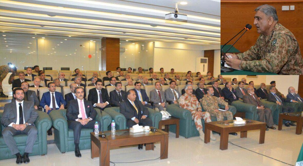 Efforts to consolidate peace in Karachi will continue unabated.COAS