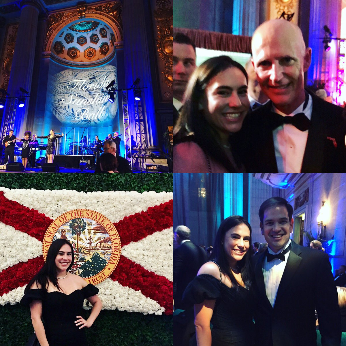 Had a great time at the Florida Sunshine Ball. Thank you @FLGovScott &amp; @marcorubio for a lovely evening. #RPOF #FlaPol #Sayfie <br>http://pic.twitter.com/E1LnaMyZTN