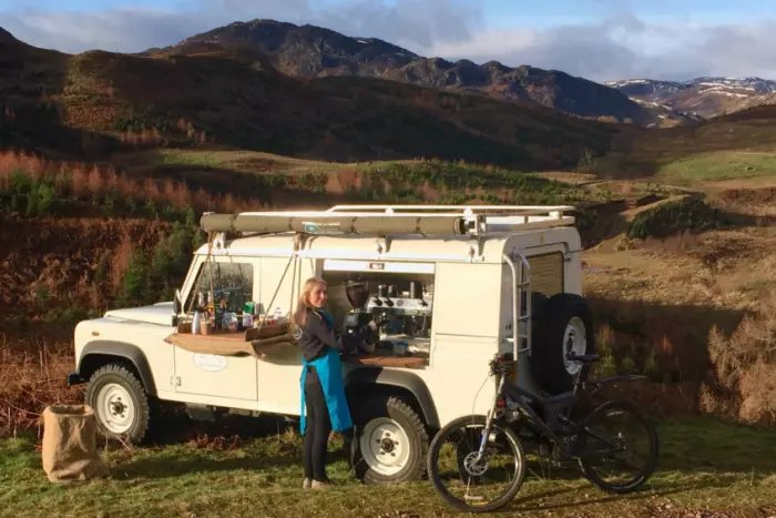 Meet the Coffee Land Rover - taking espresso into the Scottish backcountry scotsman.com/lifestyle/outd… @ComrieCroft