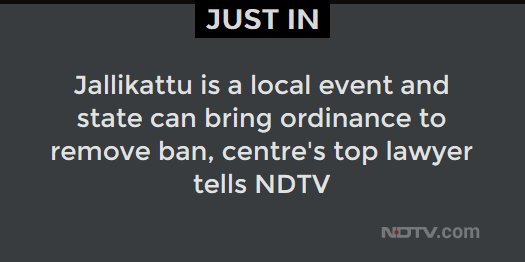 This is a news alert. More details to follow.  #JustIn #NDTVNews