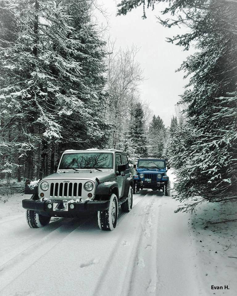 Every day is a Wrangler Winter Wonderland. #OIIIIIIIO