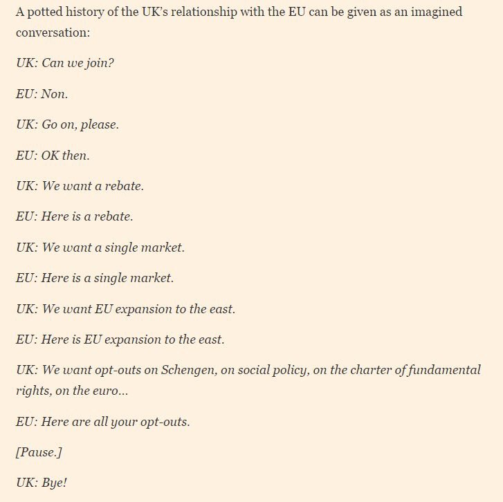 EU/UK relationship a potted history. <by the brilliant @Law_and_policy for @FT> #brexit https://t.co/NPAEvd51fX