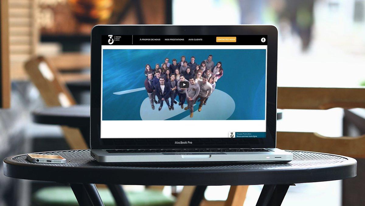[TPZ] Venez dès maintenant découvrir le nouveau site Troyes Point Zéro ! #Web #Design #TPZ #Communication  http://www. troyespointzero.fr  &nbsp;  <br>http://pic.twitter.com/pQWGnXizUu