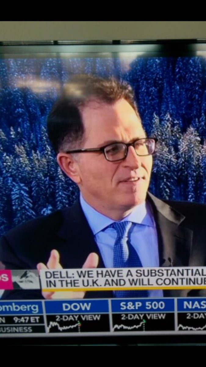 @MichaelDell laying it all out out at #davos2017 #wef17 https://t.co/JxZZV2eWmk
