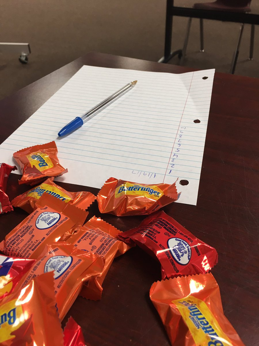 My sign-in sheet is as empty as my soul right now. I have to eat this candy alone. #Classwatch2017 https://t.co/loUV8pX5Q5