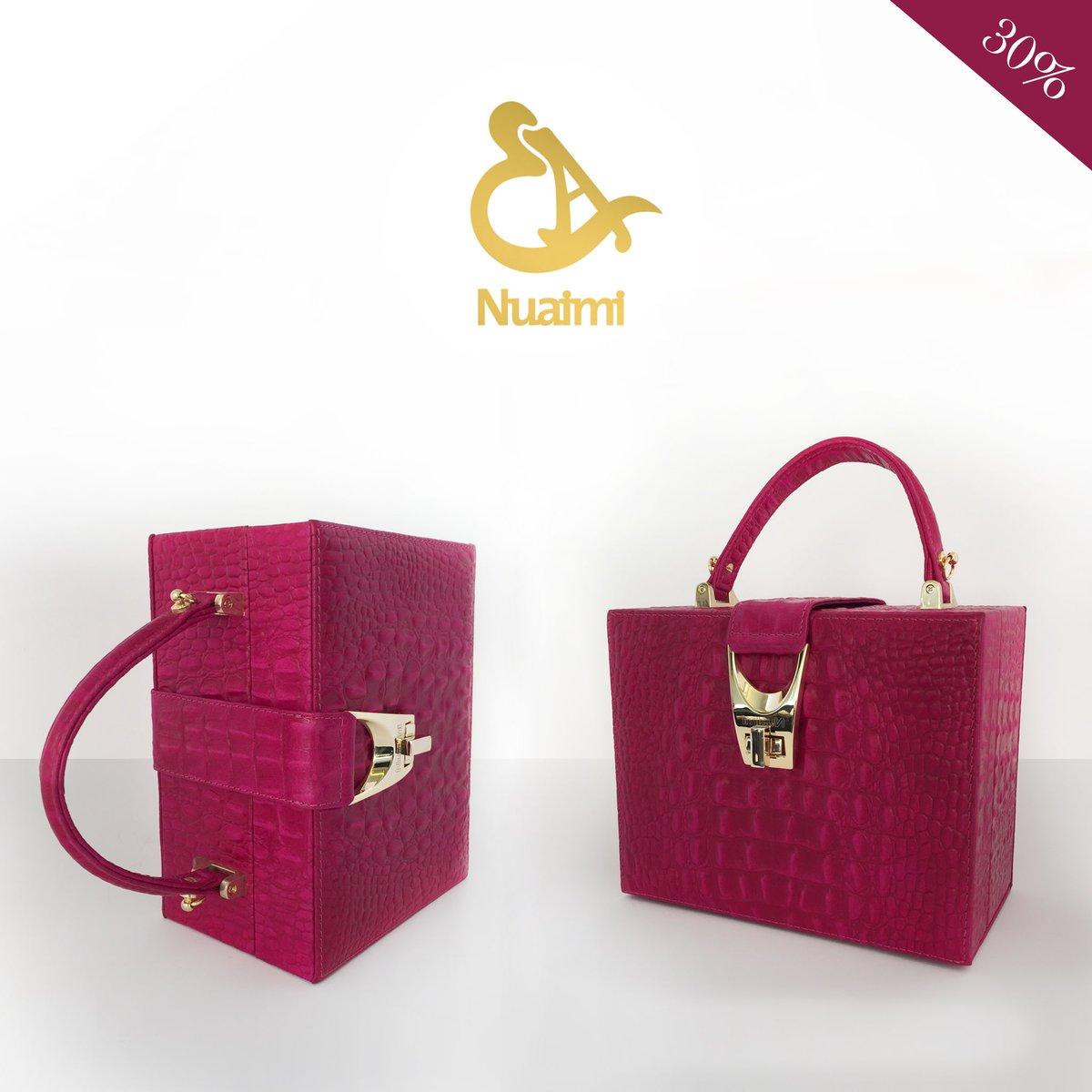 On sale -30% !  Nuaimi box bag   #nuaimi #handbag #uae #abudhabi #dubai #fashion #shopping #oman #kuwait #saudi #bahrain #lebanon #jordan <br>http://pic.twitter.com/u1nZDY7l9D