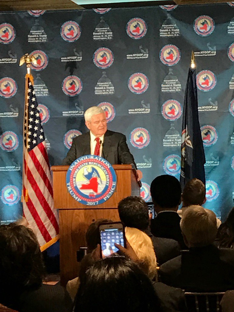 .@newtgingrich 'Trump has  the ability to be the biggest change agent we've seen in a long time' #nygopindc