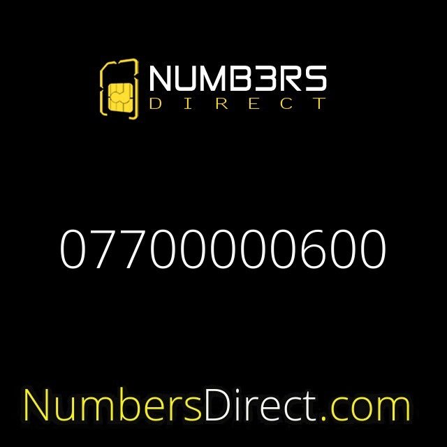 07700000600 (£2500) #mobilenumbers #goldnumbers #personalisednumbers #vipnumbers #platinumnumbers #simcards #exclusivenumbers #numbersdirectpic.twitter.com/YasElT2AEw