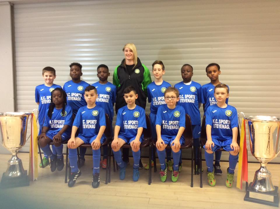 KC Sports Stevenage proud to be sponsoring MK Gallacticos Joma trainin...